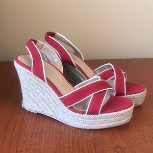 Colin Stuart Espadrille Wedge Sandals